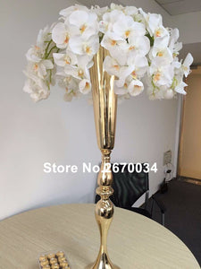 Hot tall decorative  gold table centerpieces for wedding