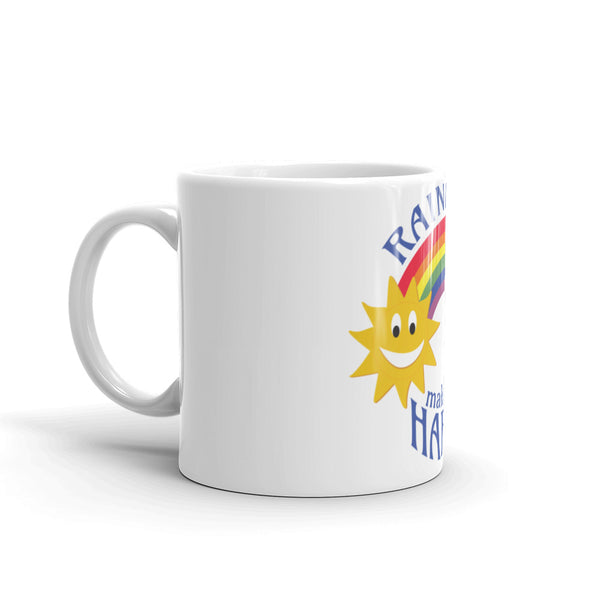 Rainbows make me HAPPY! Mug