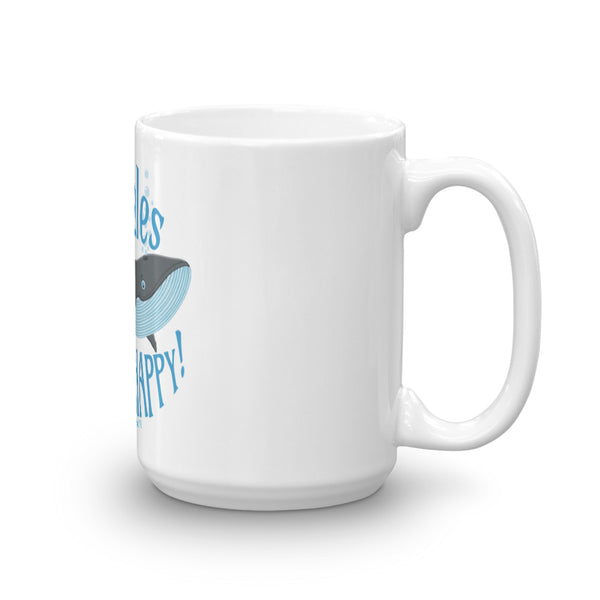 Whales make me HAPPY!- Maui, Hawai'i Mug