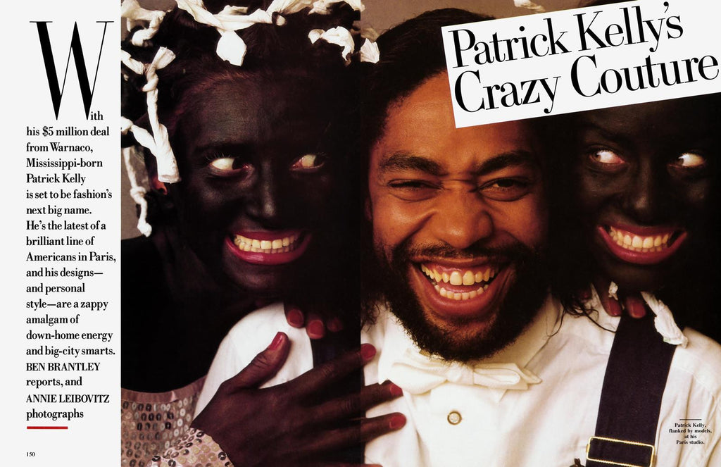 Patrick Kelly - Fashion designer who reclaimed the Blackface - Thrifty Towel