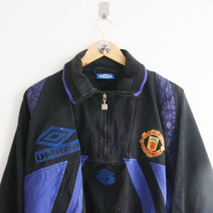 VINTAGE UMBRO MANCHESTER UNITED PULL-OVER (M)