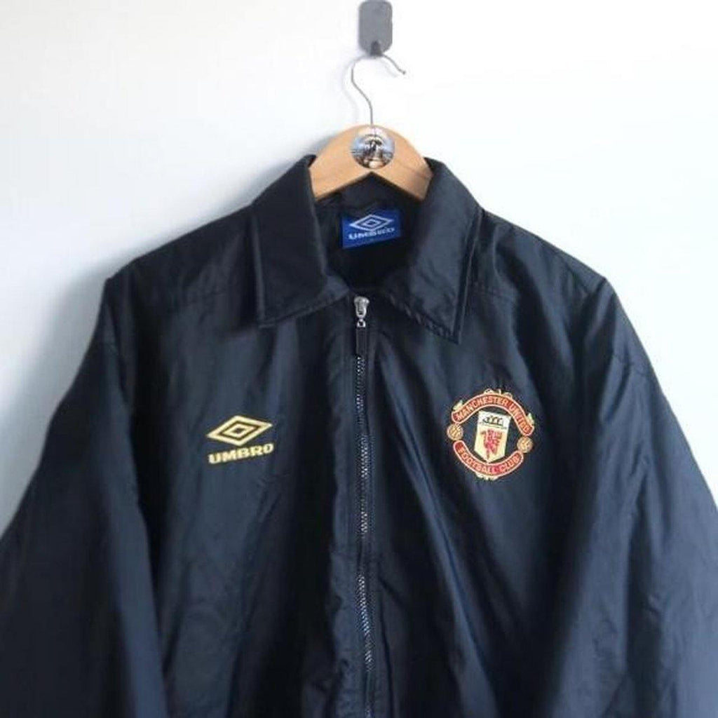 c91a8beb4a6 VINTAGE UMBRO MANCHESTER UNITED BOMBER JACKET (XS) – Thrifty Towel