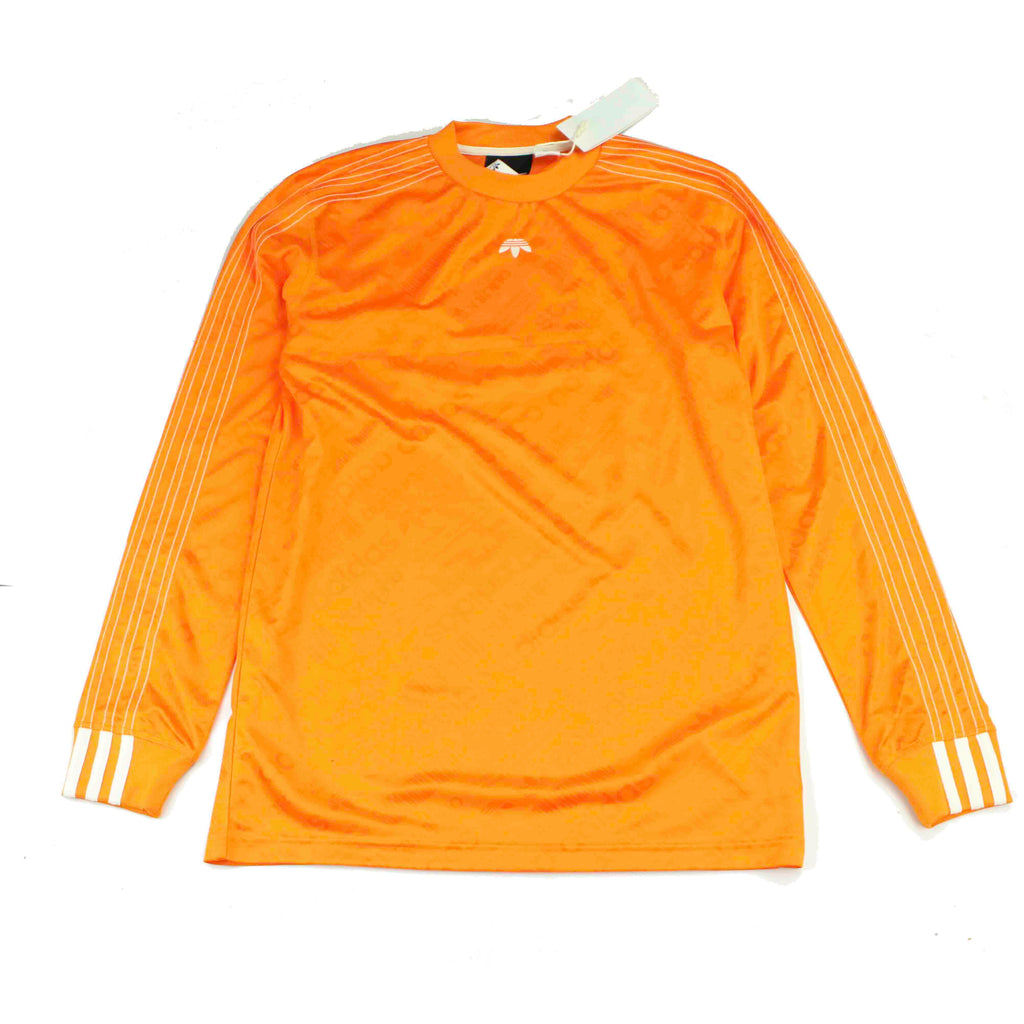 ADIDAS X ALEXANDER WANG LONG SLEEVE SOCCER TEE - Thrifty Towel