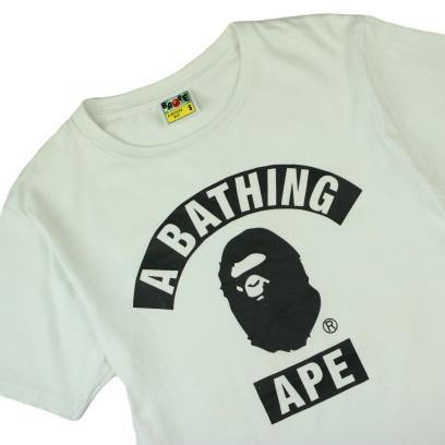 A BATHING APE COLLEGE TEE - Thrifty Towel