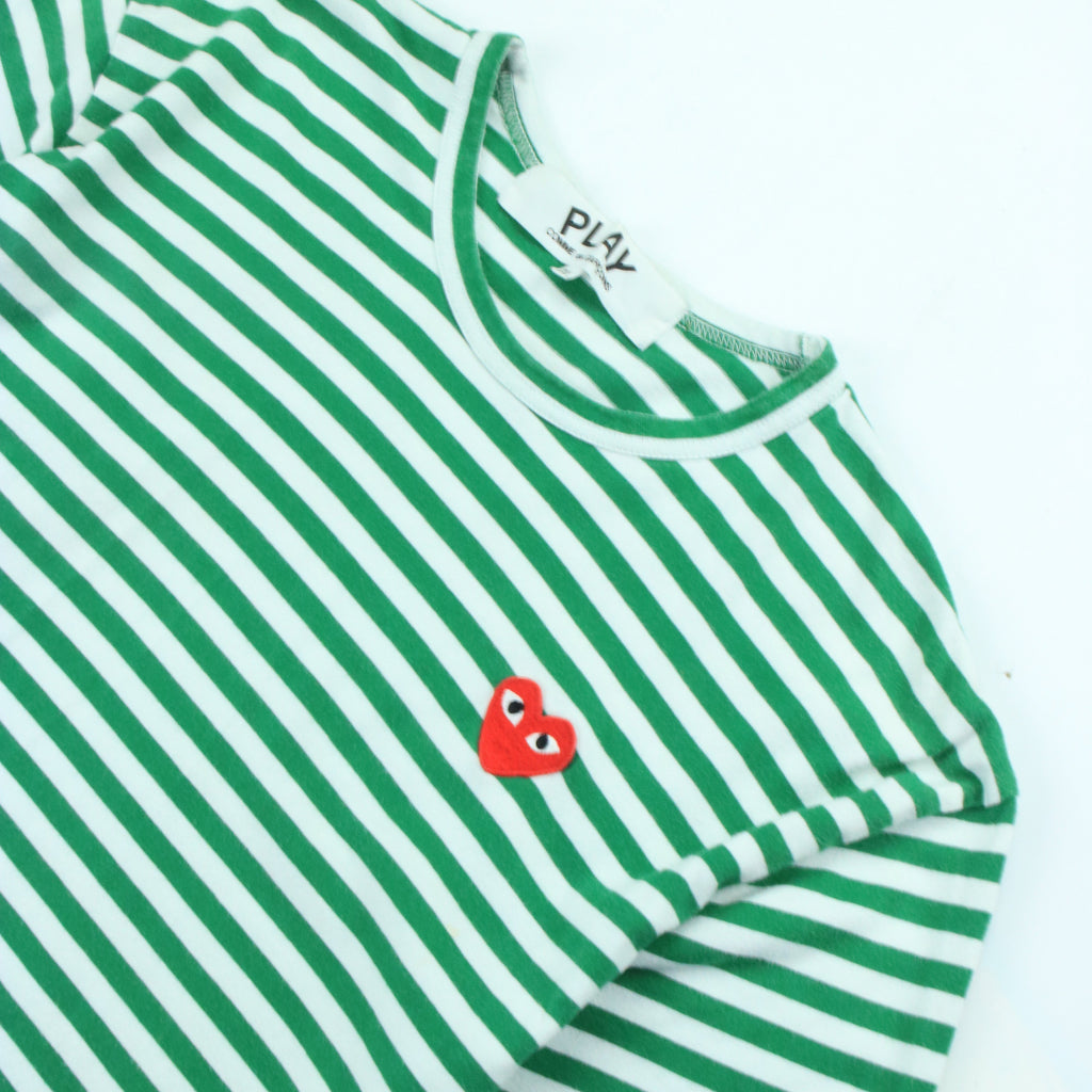 COMME DES GARCONS PLAY LITTLE RED HEART LONG SLEEVE TEE