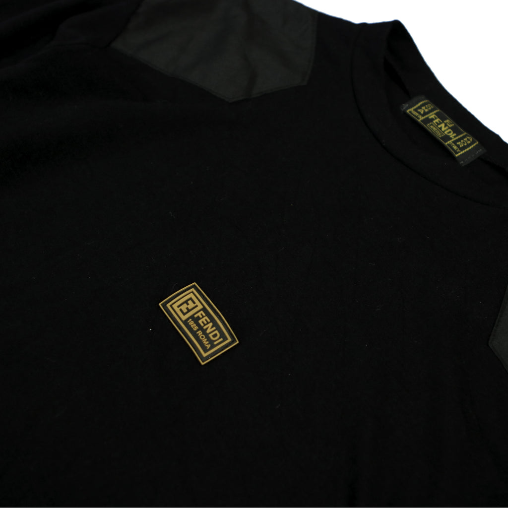 FENDI MILITARY PATCH SWEAT (S) - Thrifty Towel