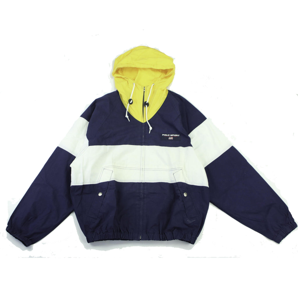 POLO RALPH LAUREN POLO SPORT HOODED WINDBREAKER - Thrifty Towel