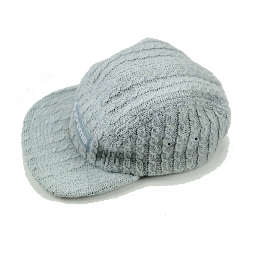 SUPREME CABLE KNIT 5 PANEL - Thrifty Towel
