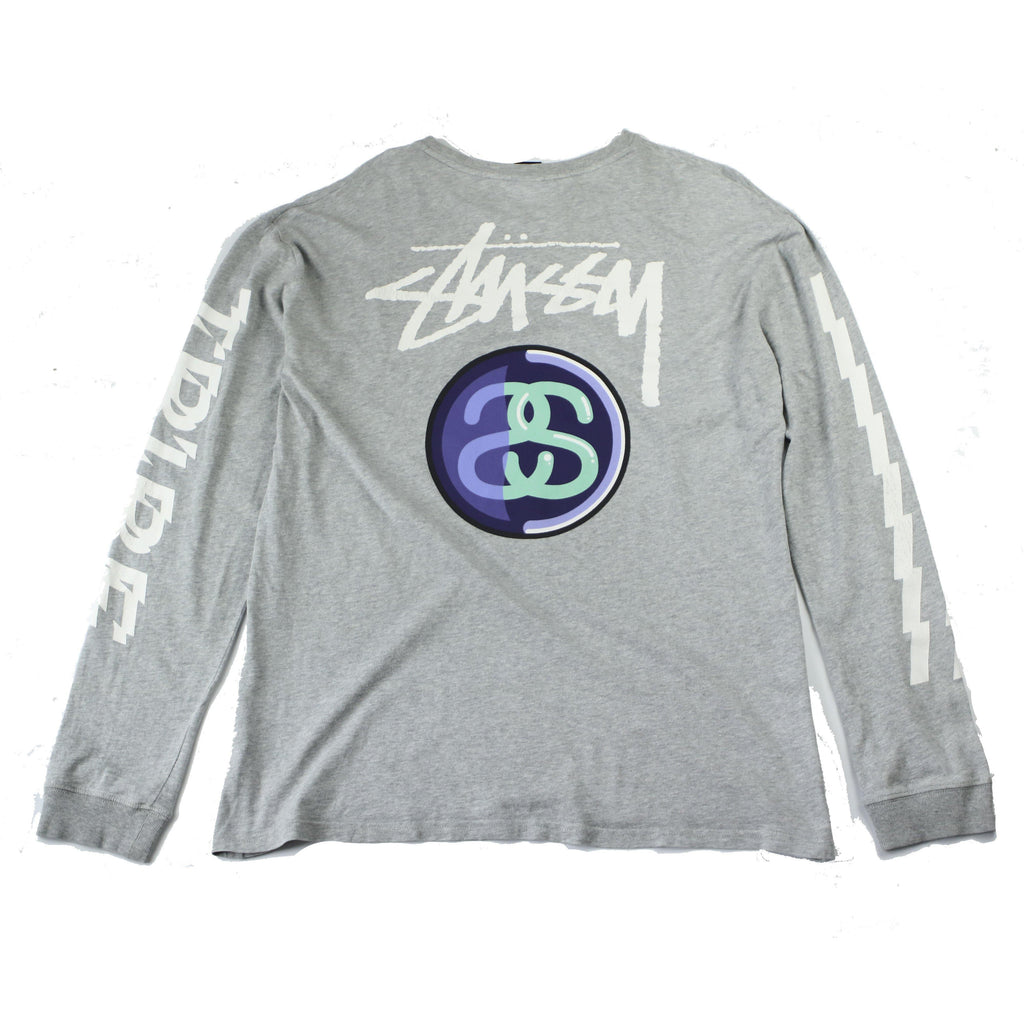 STUSSY LONG SLEEVE TRIBE TEE - Thrifty Towel