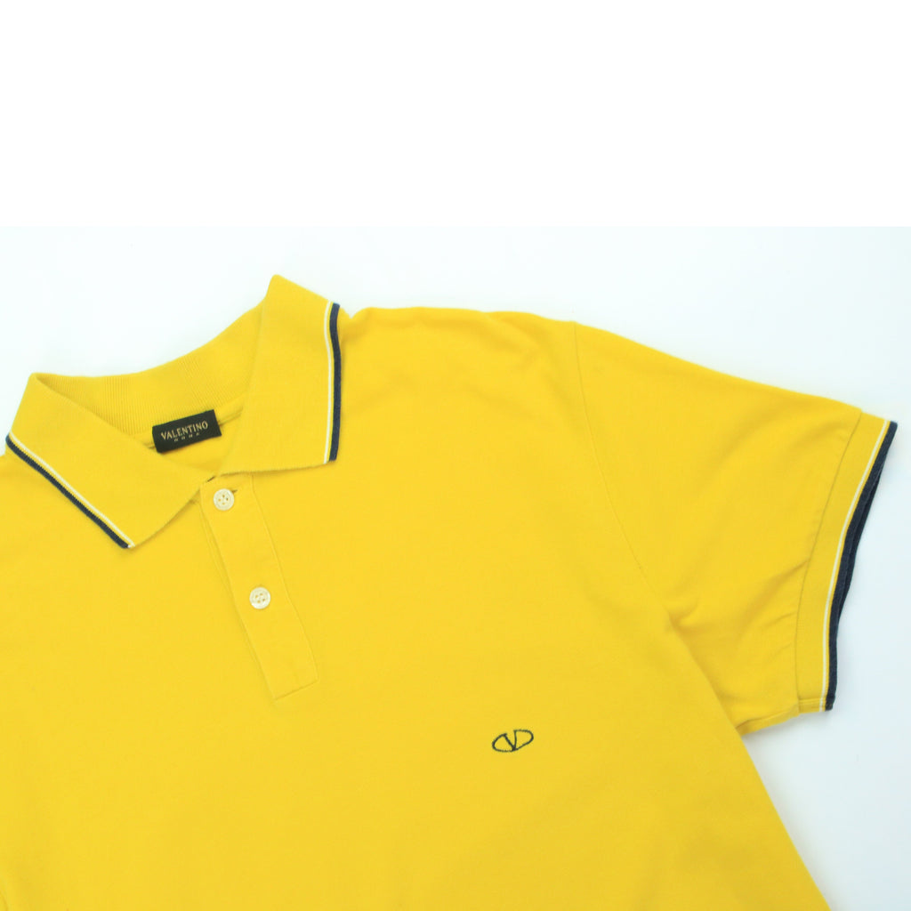 VALENTINO SUNSHINE TRIM POLO (L) - Thrifty Towel
