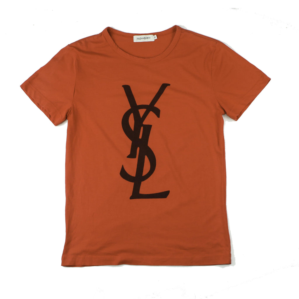 YVES SAINT LAURENT LOGO TEE - Thrifty Towel