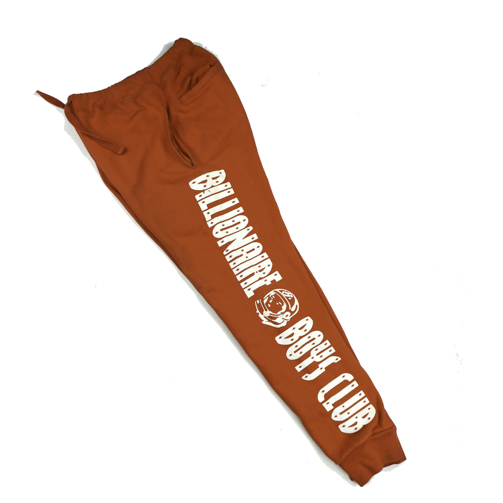 BILLIONAIRE BOYS CLUB  SPELL-OUT SWEAT PANTS - Thrifty Towel