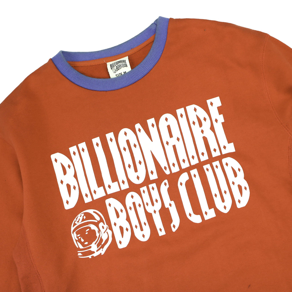 BILLIONAIRE BOYS CLUB LOGO CREW SWEAT - Thrifty Towel
