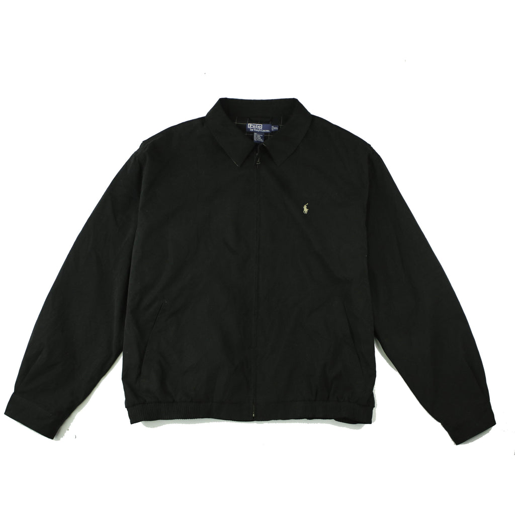 POLO RALPH LAUREN WINDBREAKER HARRINGTON JACKET - Thrifty Towel