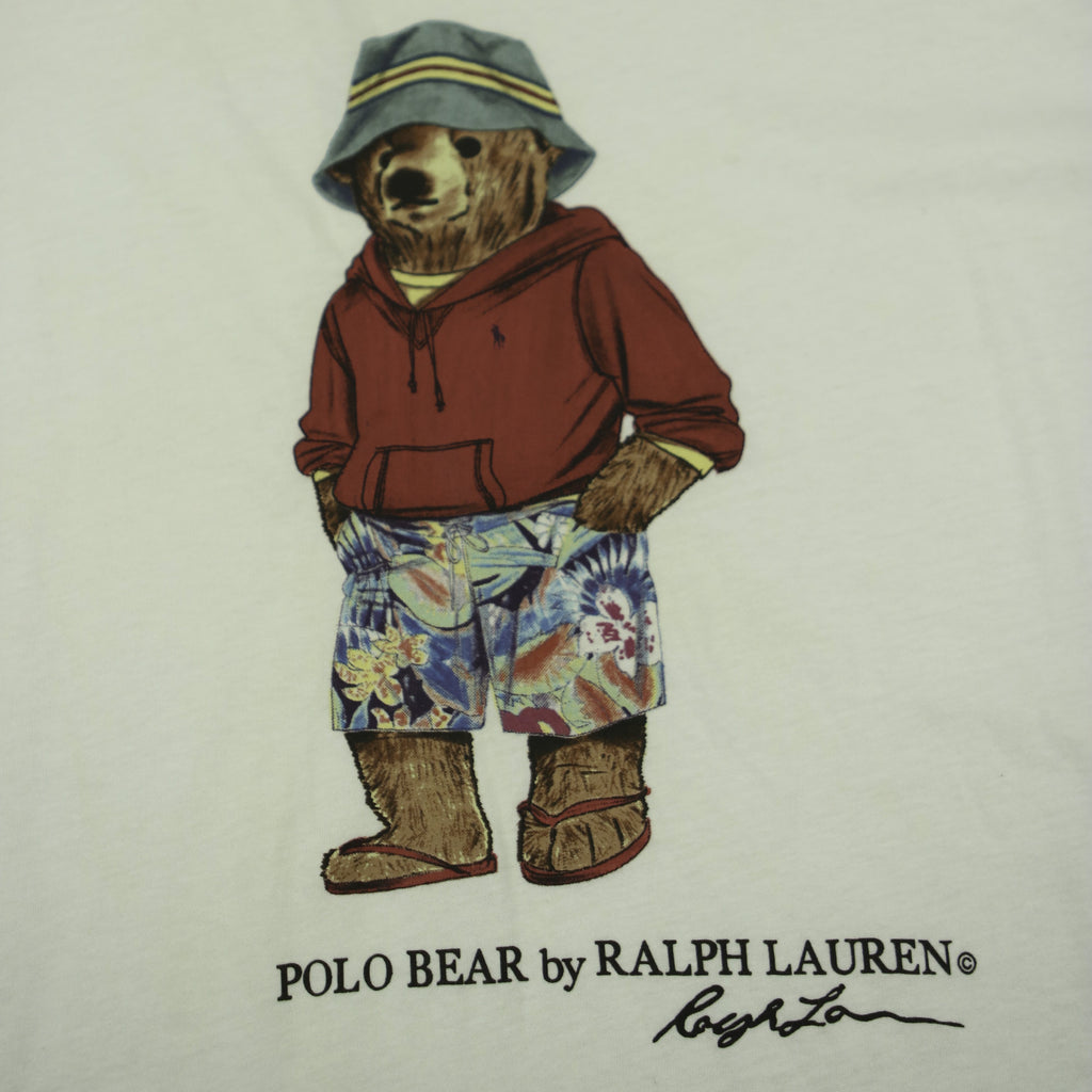 POLO RALPH LAUREN HAWAII BEAR TEE (XXL) - Thrifty Towel