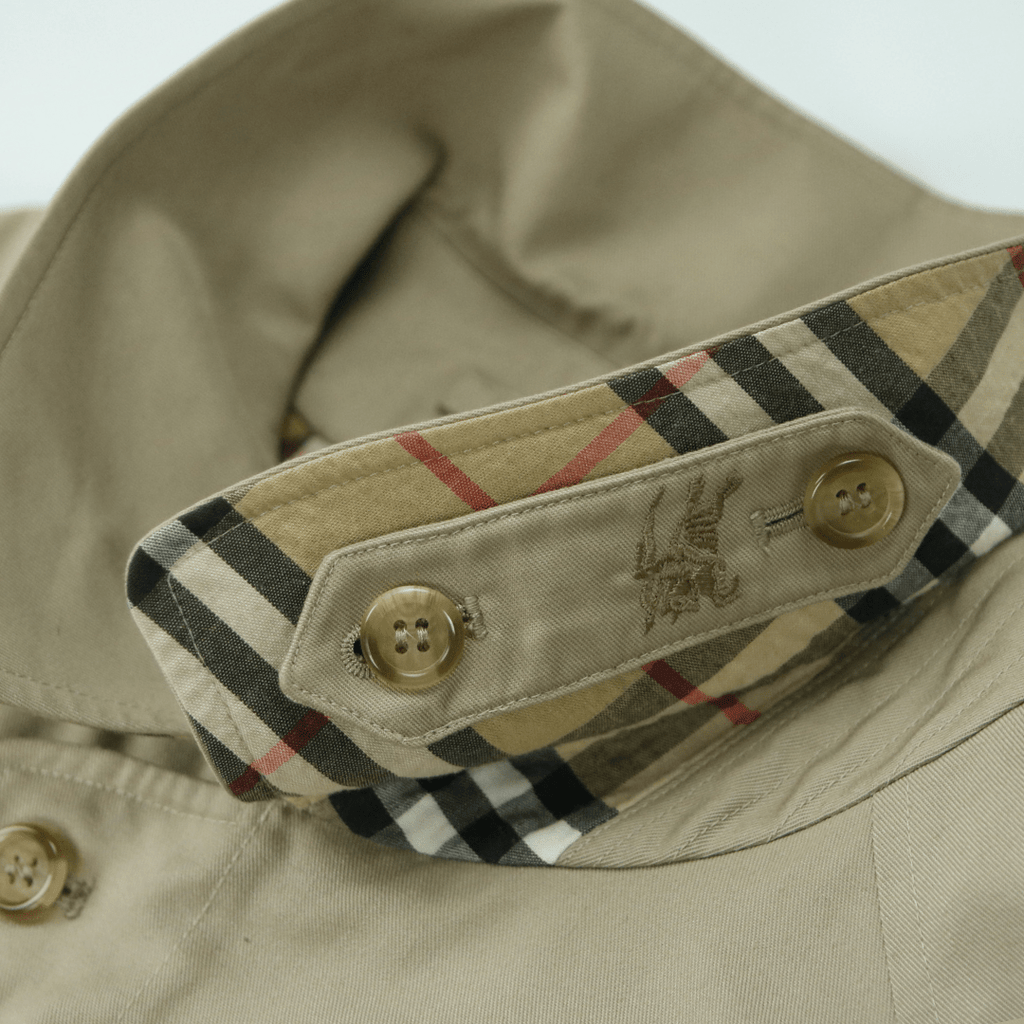 BURBERRY HAYMARKET CHECK JACKET (XL) - Thrifty Towel