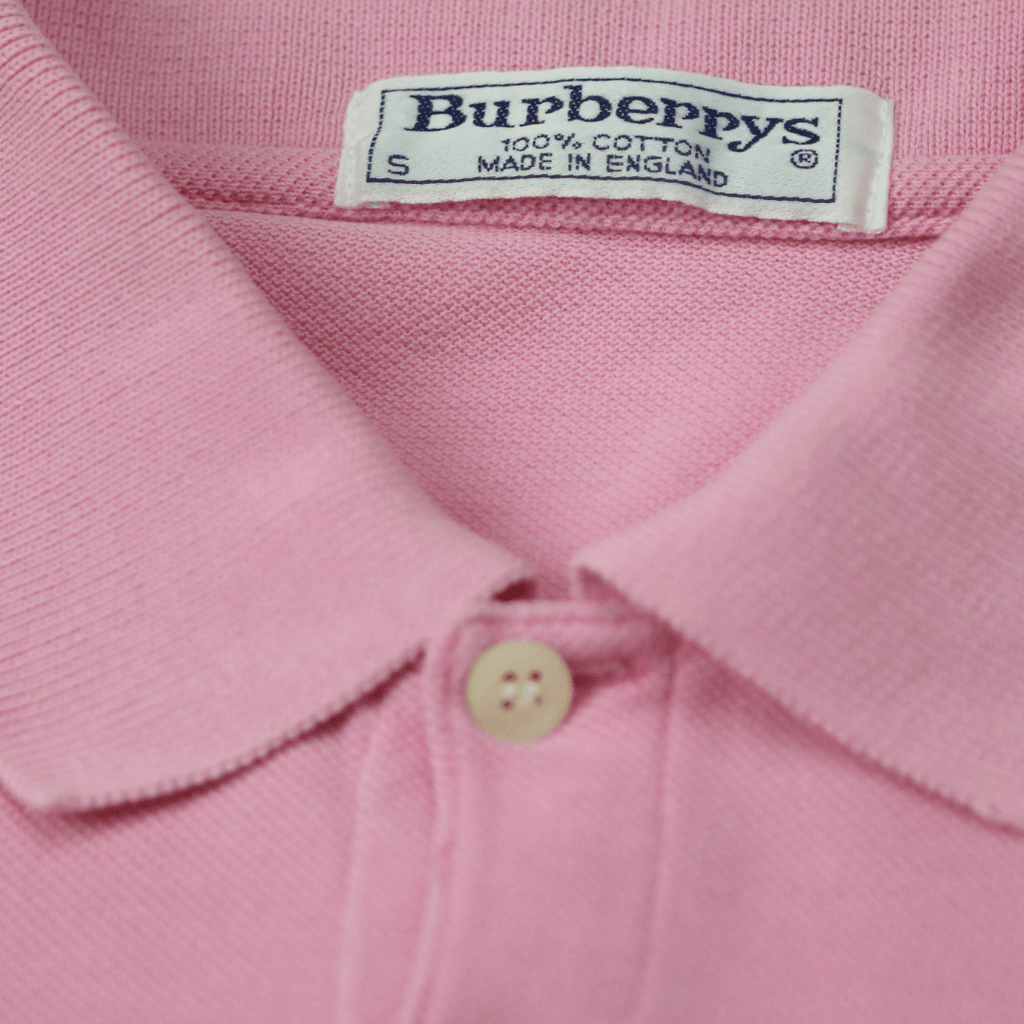 BURBERRY CREST POLO SHIRT (S) - Thrifty Towel
