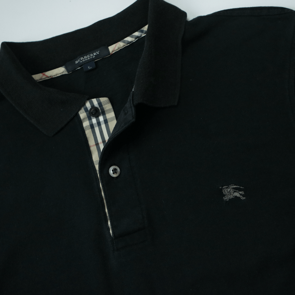 BURBERRY LONDON NOVA CHECK POLO (L) - Thrifty Towel