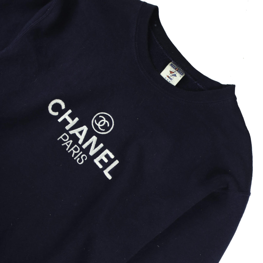 BOOTLEG CHANEL SWEATSHIRT - Thrifty Towel
