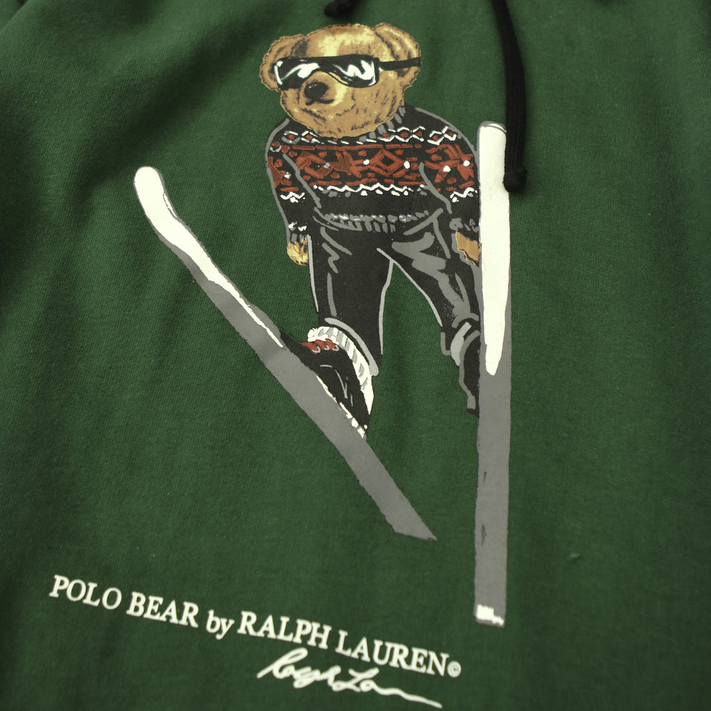 POLO RLAPH LAUREN SKI BEAR HOODY (M) - Thrifty Towel