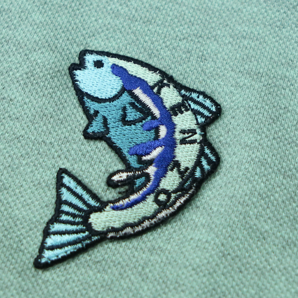 KENZO FISH CREST POLO (L) - Thrifty Towel