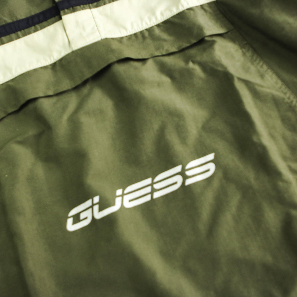 GUESS 90S HALFZIP JACKET