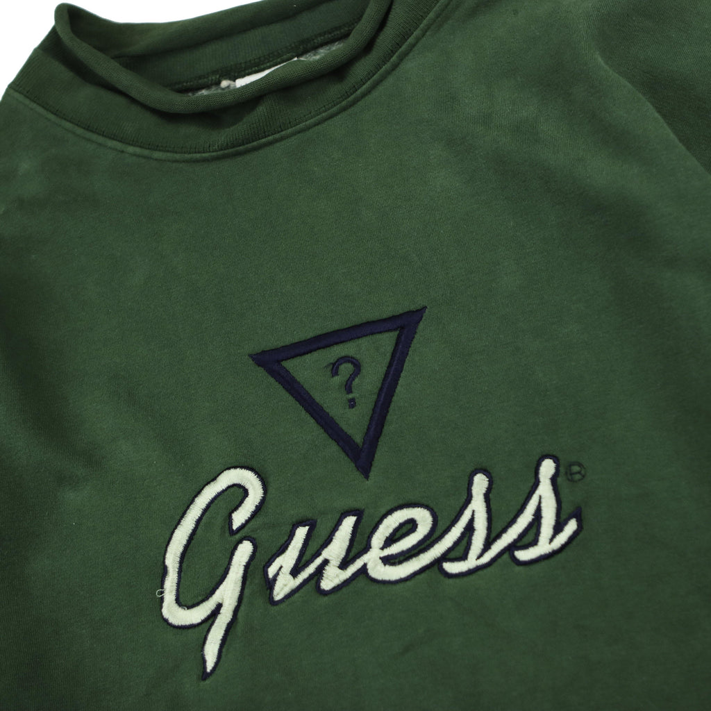 GUESS SIGNATURE MOCK NECK SWEAT - Thrifty Towel