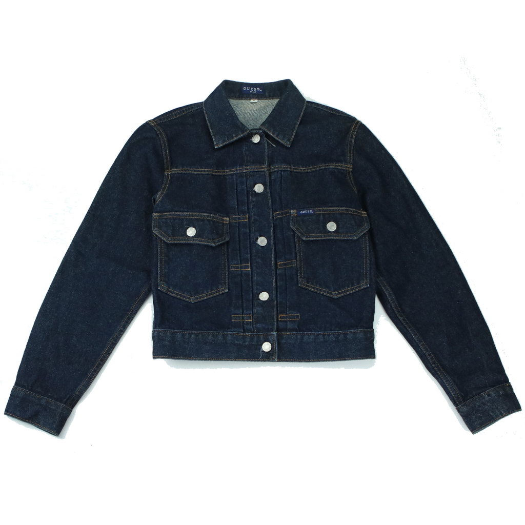 GUESS DENIM CROP JACKET