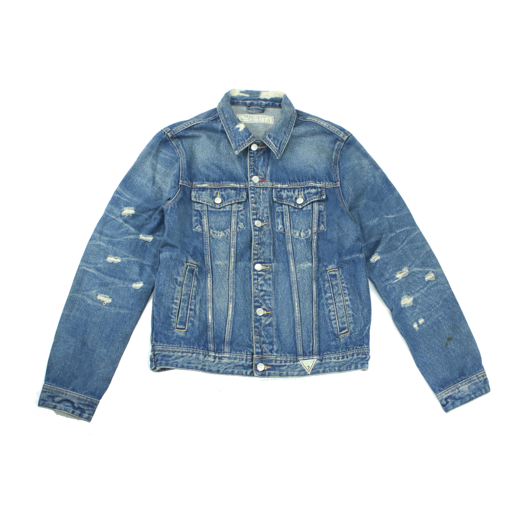 GUESS DILLION DENIM JACKET (L) - Thrifty Towel