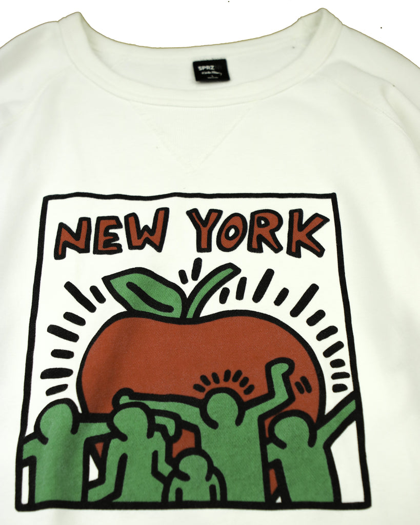 KEITH HARING NEW YORK SWEAT (L) - Thrifty Towel