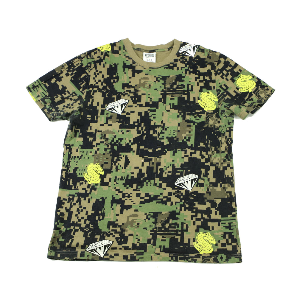 BILLIONAIRE BOYS CLUB DIGI CAMO TEE - Thrifty Towel