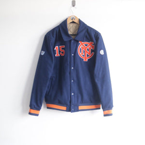 Vintage Majestic New York City FC Collar Jacket (M)