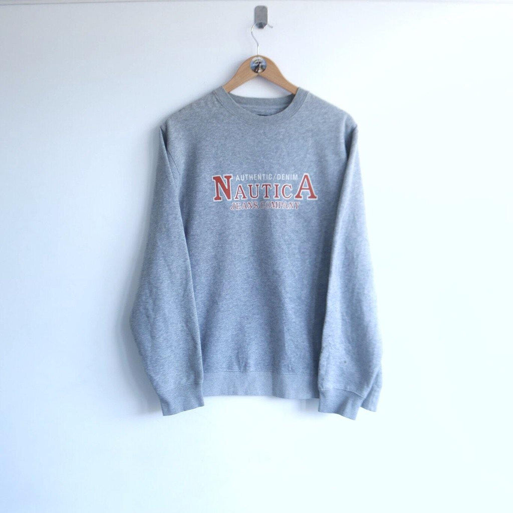 Vintage Nautica Competition Spellout Sweater (L)