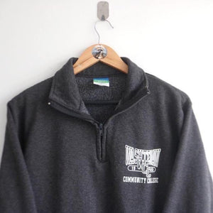Vintage Champion ECO Fleece Quarter Zip  (S)