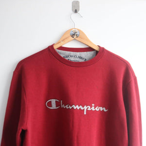 Vintage Champion Spellout Essential Sweater (L)
