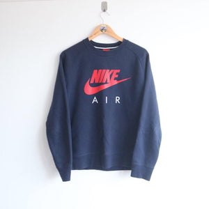 813ccbff39 Vintage Nike Graphic Spellout Sweater (M) ...