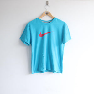 Vintage 90s Nike Air Spellout Big Tick Tee (S)