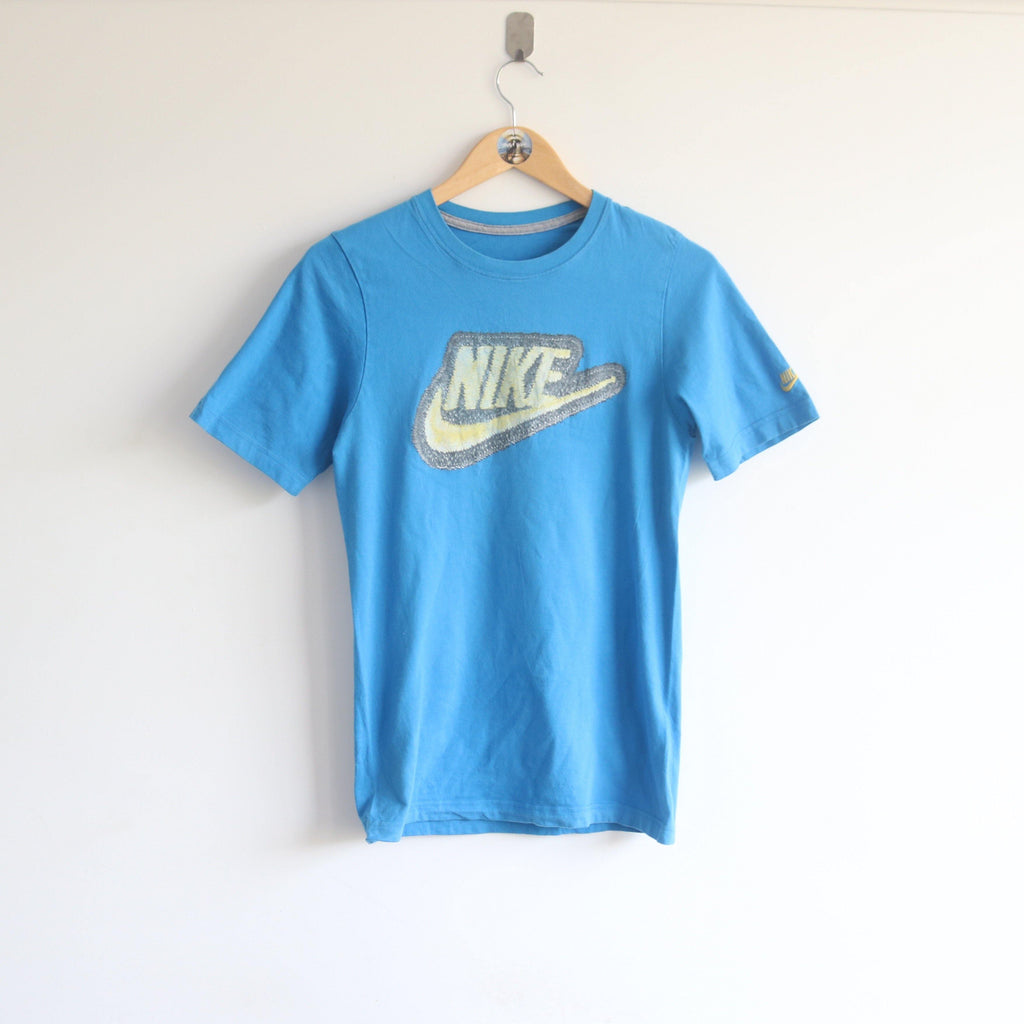 Vintage Nike Embroided Sleeve Nature Graphics Slimfit (S)