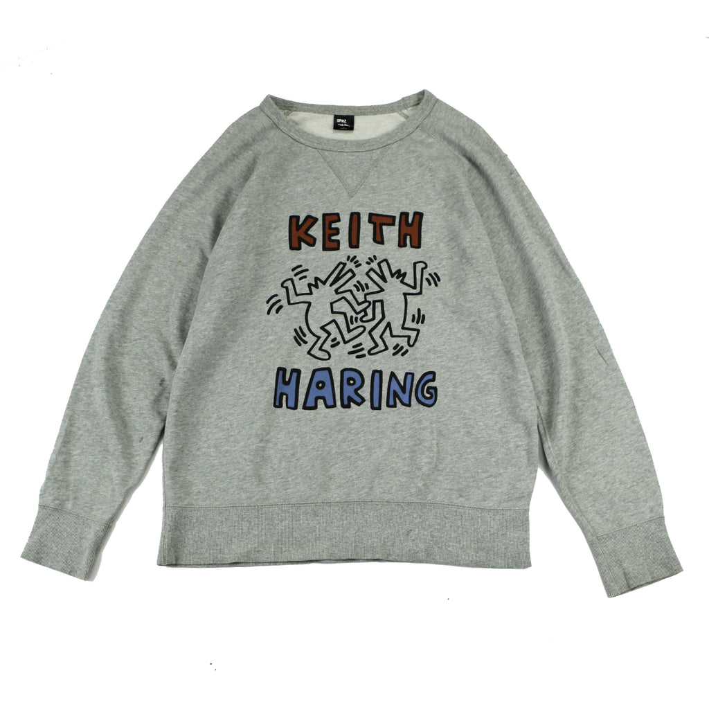 KEITH HARING PARTY DOGS SWEAT (L) - Thrifty Towel