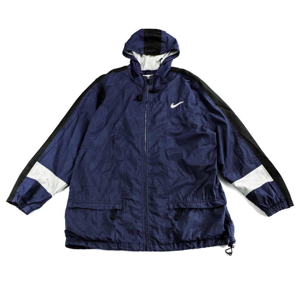 NIKE SWOOSH SPELLOUT JACKET - Thrifty Towel