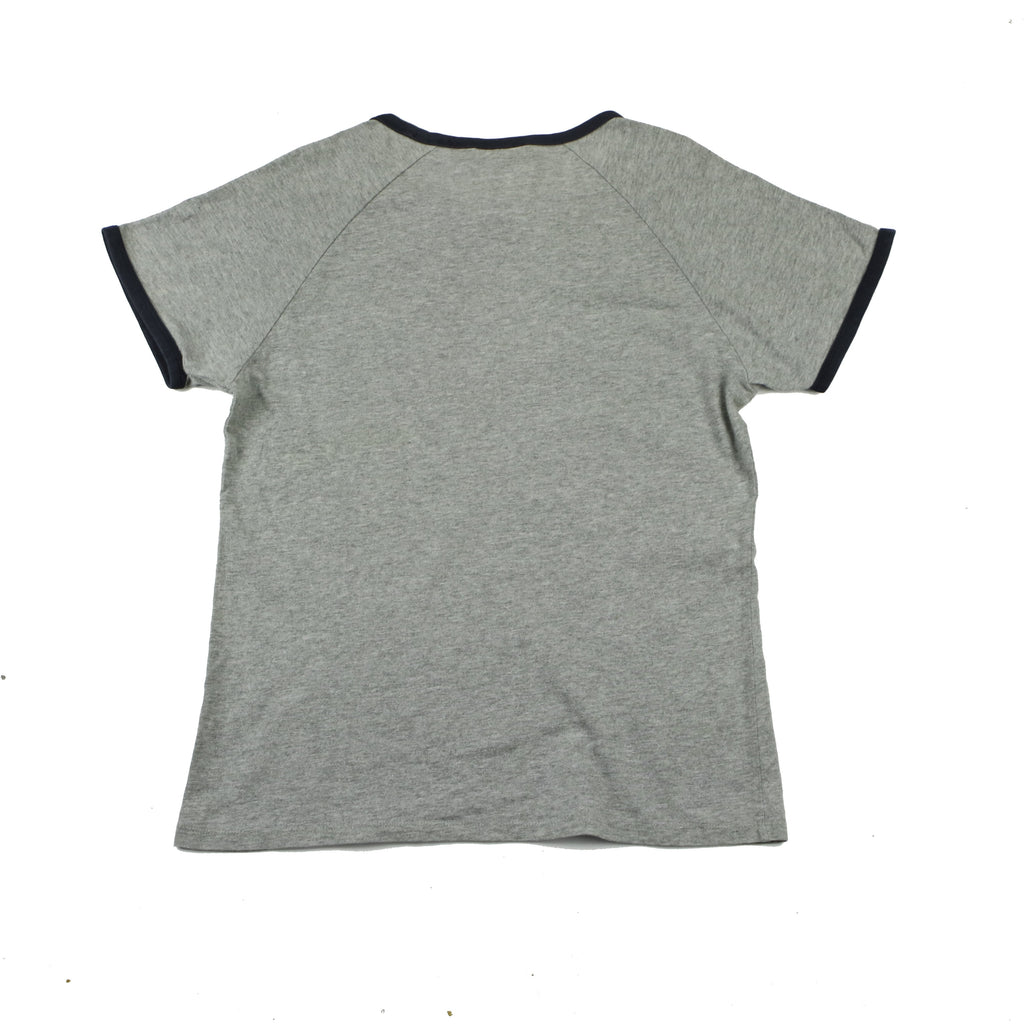 NIKE SWOOSH RIBBED TEE (L) - Thrifty Towel