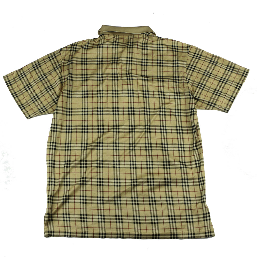 BURBERRY NOVA CHECK  PATTERN POLO - Thrifty Towel