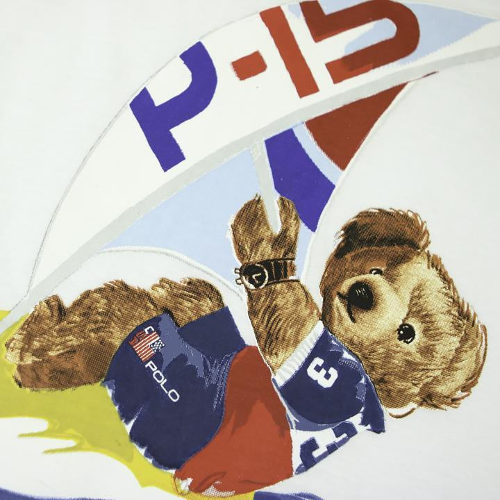 POLO RALPH LAUREN P-15 WIND SURFING BEAR TEE - Thrifty Towel