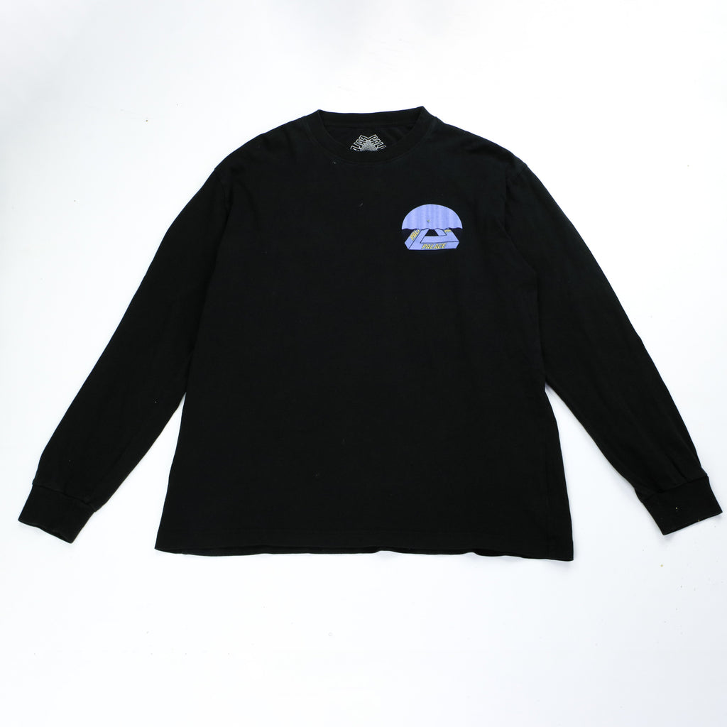 PALACE WAVES LONGSLEEVE TEE (L) - Thrifty Towel