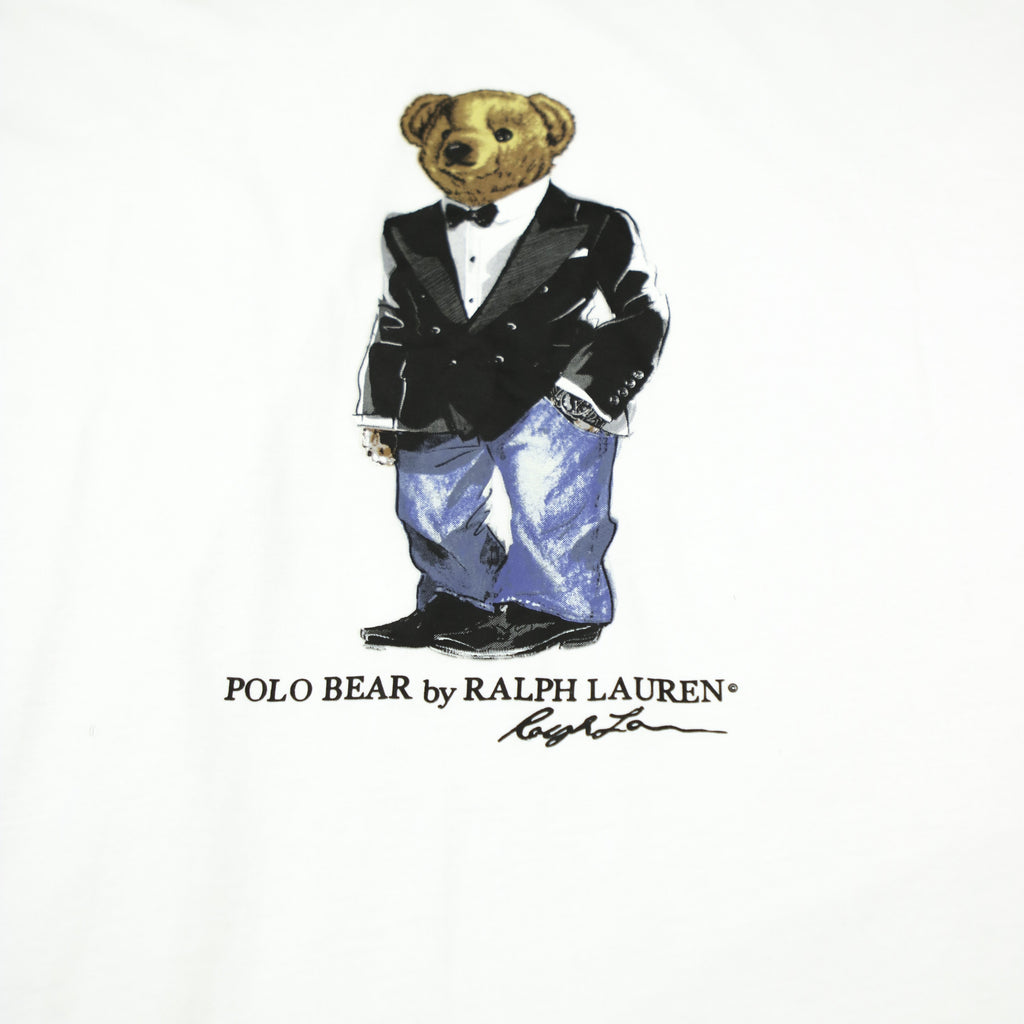 POLO RALPH LAUREN TUXEDO BEAR TEE (XXL) - Thrifty Towel