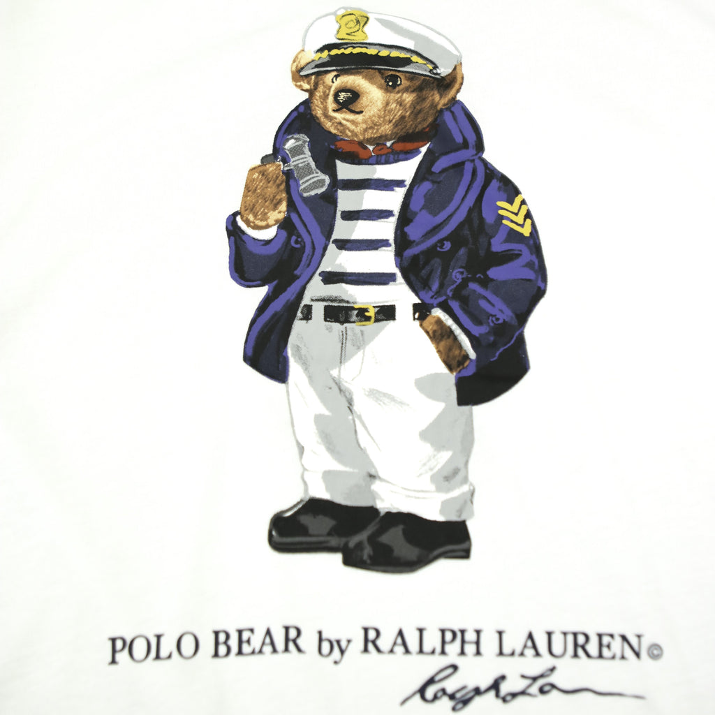 POLO RALPH LAUREN SEA CAPTAIN BEAR TEE (S) - Thrifty Towel