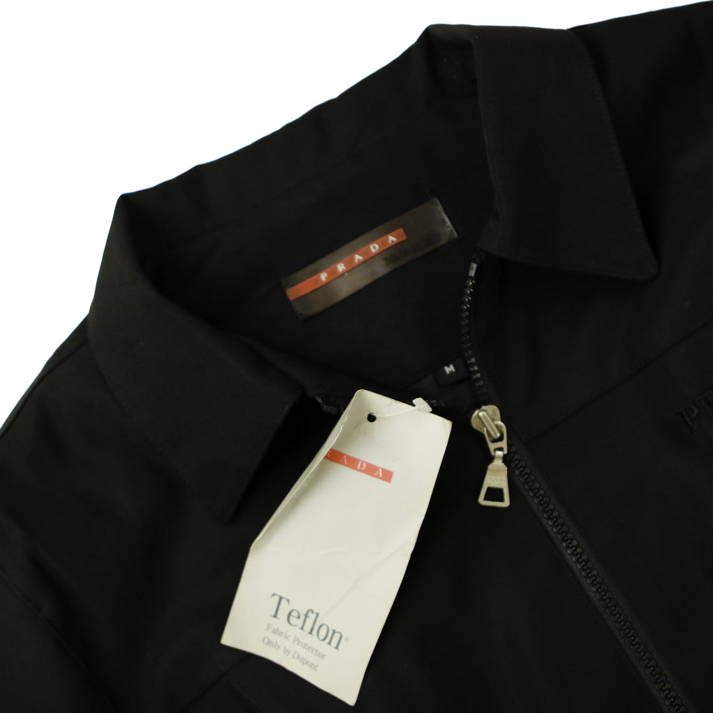 PRADA TEFLON HARRINGTON JACKET (S) - Thrifty Towel