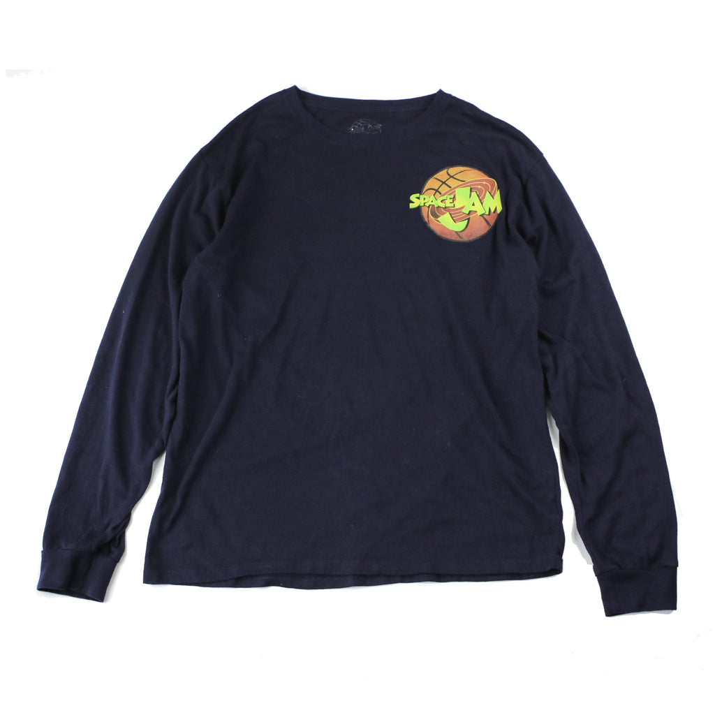 SPACE JAM 90S LONGSLEEVE TEE - Thrifty Towel