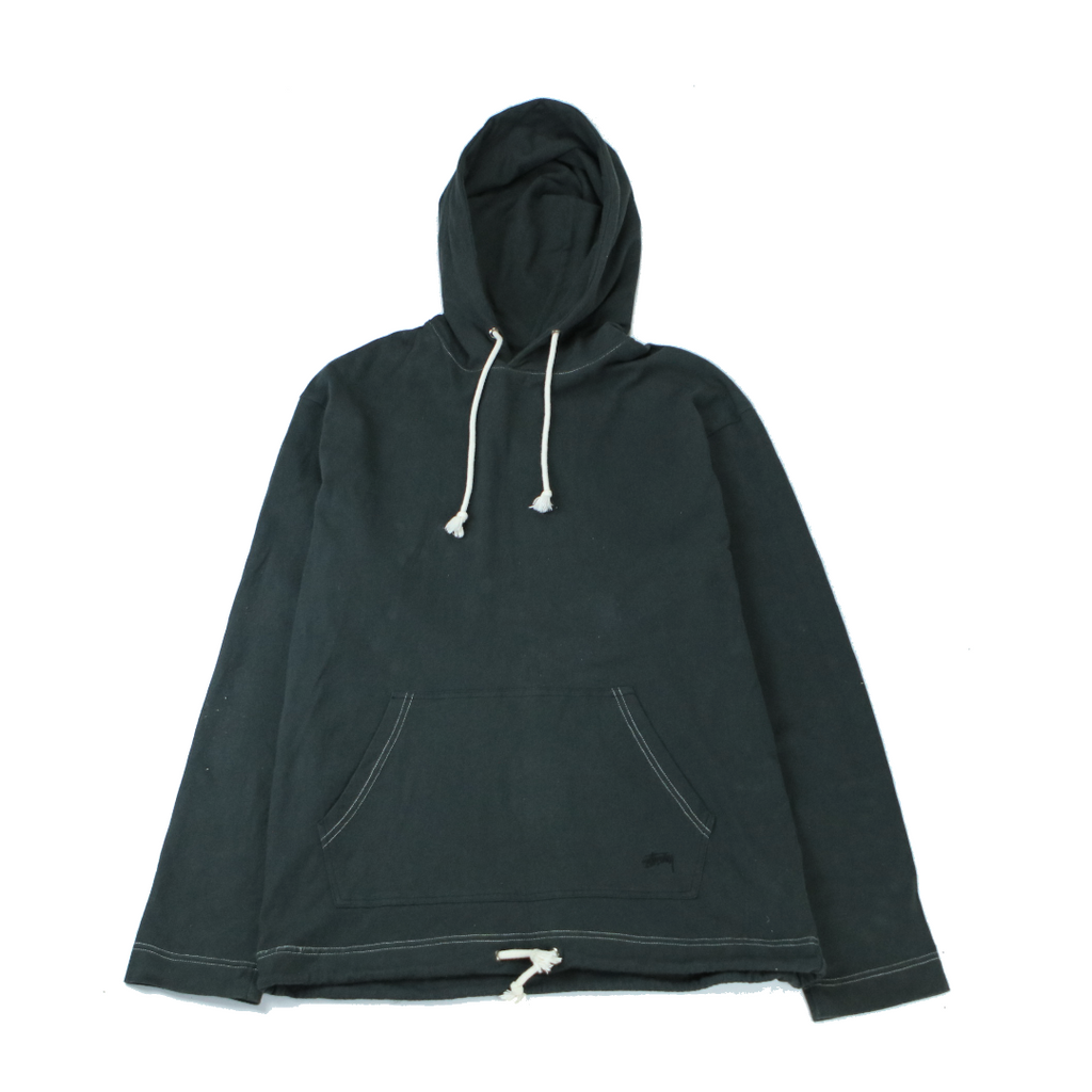 STUSSY PULLOVER HOODY (L) - Thrifty Towel