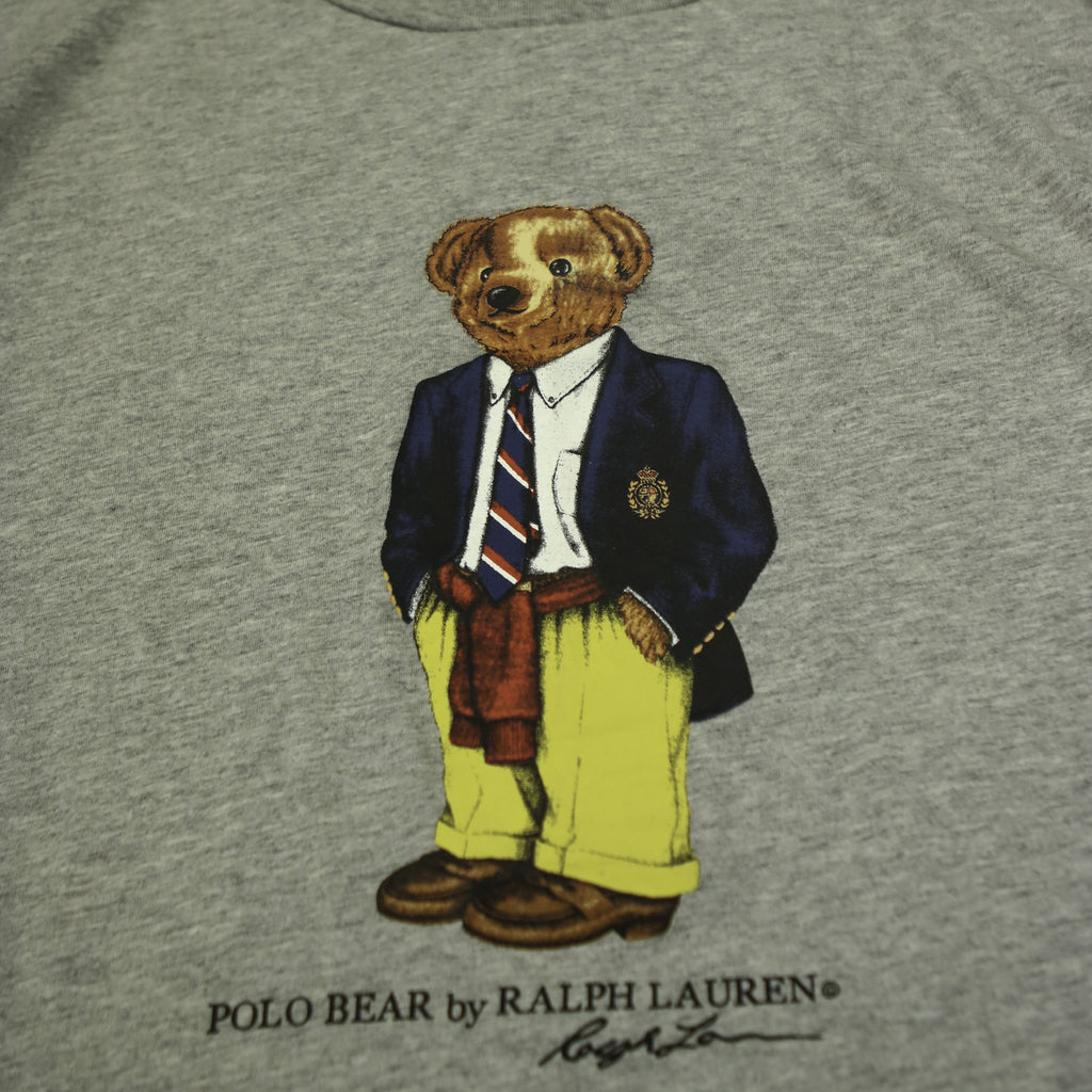 POLO RALPH LAUREN PREPPY POLO BEAR TEE (XXL) - Thrifty Towel
